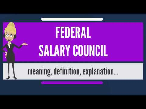 What is FEDERAL SALARY COUNCIL? What does FEDERAL SALARY COUNCIL mean?