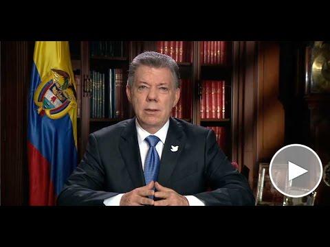 Alocución del Presidente de la República, Juan Manuel Santos - 10 de octubre de 2016