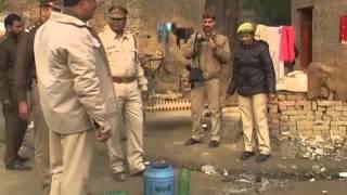 सुल्तानपुर में आबकारी और पुलिस टीम का छापा