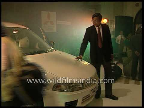 Mitubishi Launches The Lancer In Indian With Questionable Champagne Spraying