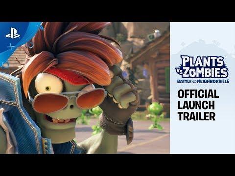 Plants vs. Zombies: La Batalla de Neighborville - Tráiler de lanzamiento oficial | PS4