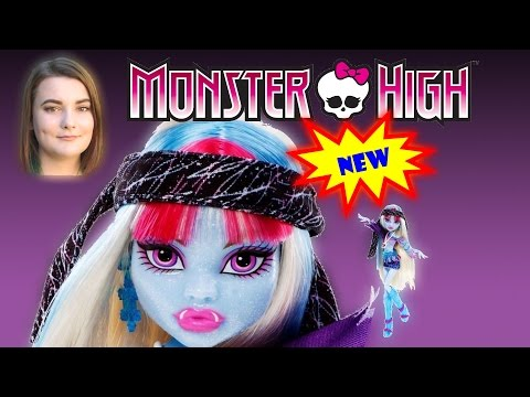 Abbey Bominable Doll From Monster High Music Festival