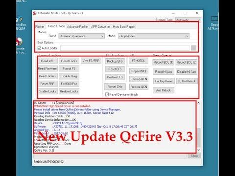UMTv2 UMTPro QcFire v3 3 Setup Ultimate Multi Tool Download 2018