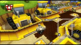 Mario Kart Wii TAS 300cc Shortcuts