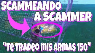 """I trade you my gun 150"" Fortnite Save the World Scameing to Scammer"