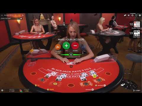 £2000 Vs Live Casino Blackjack VIP Table