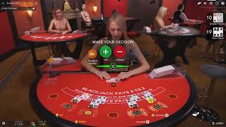 £2000 Vs Live Casino Blackjack VIP Table