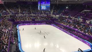 Top Male Figure Skaters Take To The Ice (Short Skate Warm Up) - PyeongChang 2018