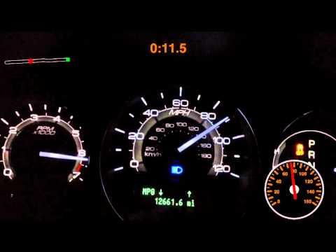 2012 Lincoln MKZ 1/4 mile+ 0-60 0-100