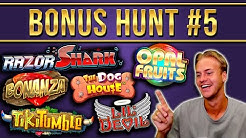 Bonus Hunt Highlights #5 -  €14.000 for 19 Features!