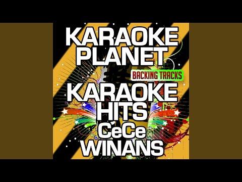 Mercy Said No (Karaoke Version) (Originally Performed By CeCe Winans)