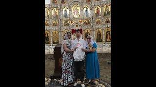 Ольга  Рапунцель. Сегодня были крестины у нашей доченьки ))