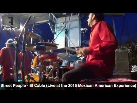 Street People - El Cable (Live @ Mexican American Experience 2015, MACC, Austin, TX) - Drum Cam