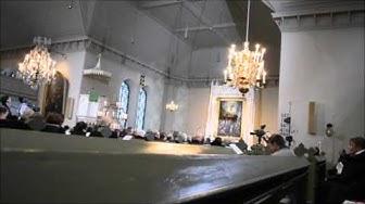Tv-jumalanpalvelus Kokemäen kirkosta 26.1.2016