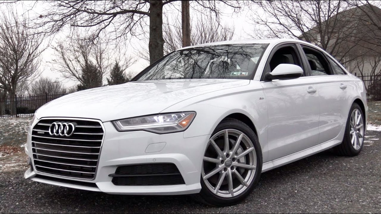 2017 Audi A6: Review - YouTube