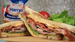 Как приготовить классический американский сэндвич | Простой рецепт