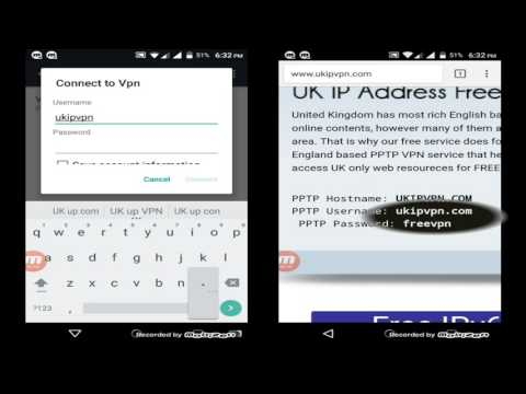 How to Setup the PPTP VPN connection on Android phones