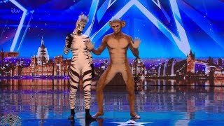 Britain\'s Got Talent 2018 Humanimals Full Audition S12E03