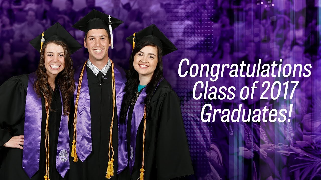 Traditional Winter Commencement Dec 15, 2017 2pm