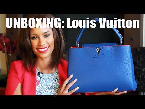 UNBOXING: Louis Vuitton Capucine MM