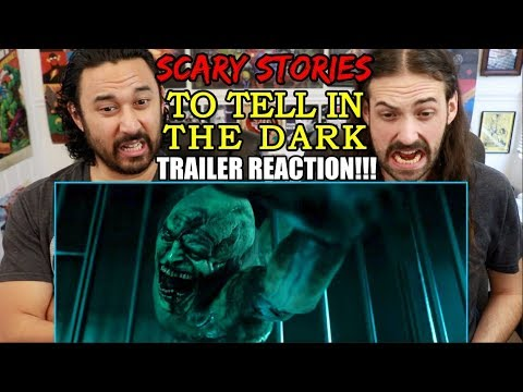 SCARY STORIES TO TELL IN THE DARK – Official Trailer – REACTION!!!