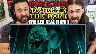 FULL SCARY STORIES TO TELL IN THE DARK - Official Trailer - REACTION!!!