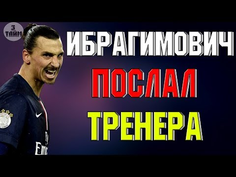 Ибрагимович тренеру: Вали домой мелкая шл#ха ! Новости футбола сегодня