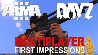 Arma 3 DayZ Multiplayer - First Impressions + Installation (Zoombies)