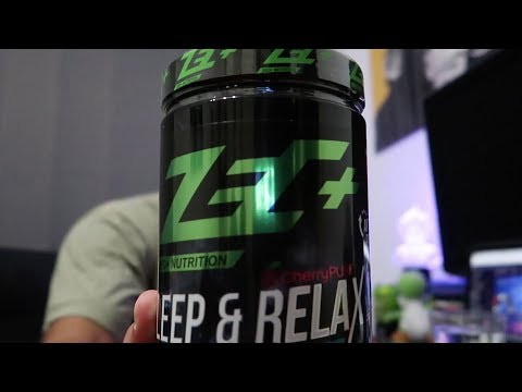 ZEC+ PLUS SLEEP & RELAX 2.0 TEST | Schlafsupplement Review 2.0 | Amir Ansarian
