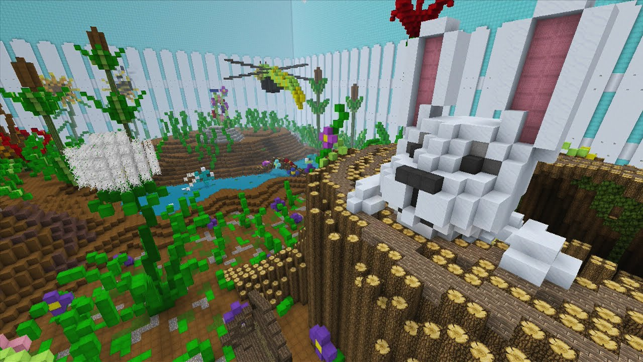 minecraft xbox - spring to life - hunger games - youtube