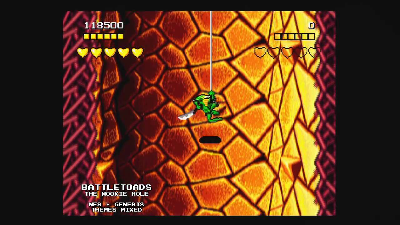 Battletoads The Wookie Hole Nes Genesis Themes Mixed
