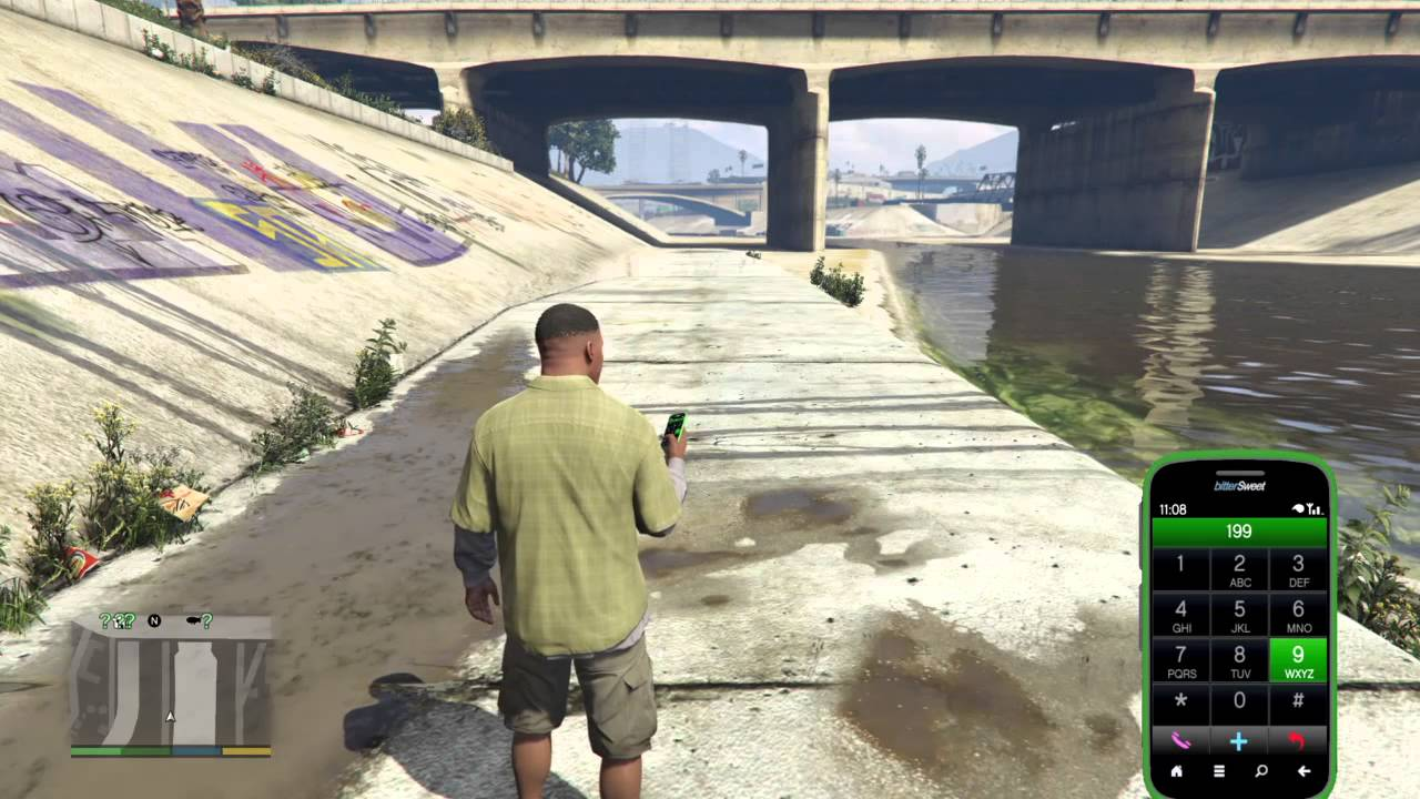 New cell phones cheat of GTA 5 uncovered recently. Dialing 1-999-367-3767 creates an unknown blast on the screen and changes your character's cell phone interface to change color, how cool is that!. Cell phone cheats come first on the Grand Theft Auto 5's release on the PS4 and Xbox One