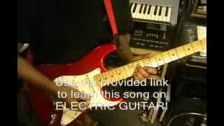 Daft Punk GET LUCKY Combo Tutorial Lessons On Guitar Bass Piano Drums Video Gateway