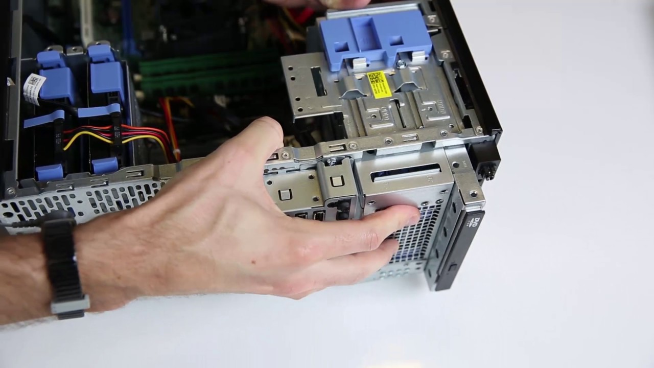Dell PowerEdge T30: Remove/Install Hard Drive Bay