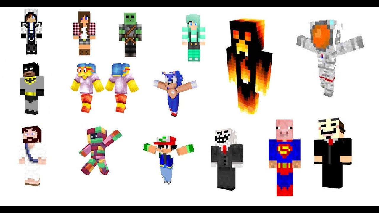 Jak zmienic skina Minecraft Launcher - YouTube