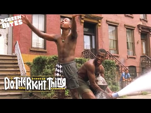 Do The Right Thing - Spike Lee fire hydrant scene OFFICIAL HD VIDEO