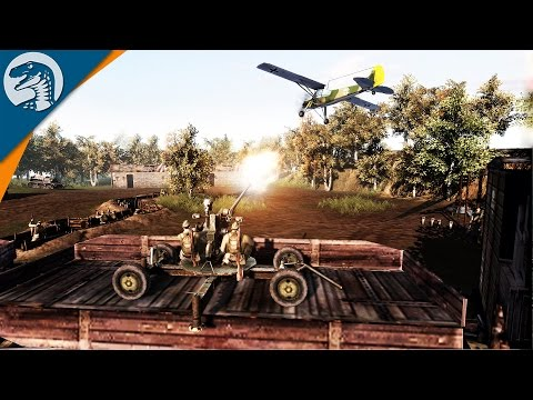 GERMAN STRIKE NEAR MOSCOW | DOM MOD | Men of War: Assault Squad 2 [MOD] Gameplay
