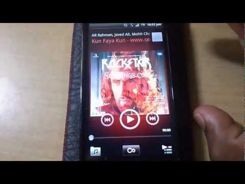 Sony Ericsson Xperia Neo V Detailed Review Part 6 - Music Player