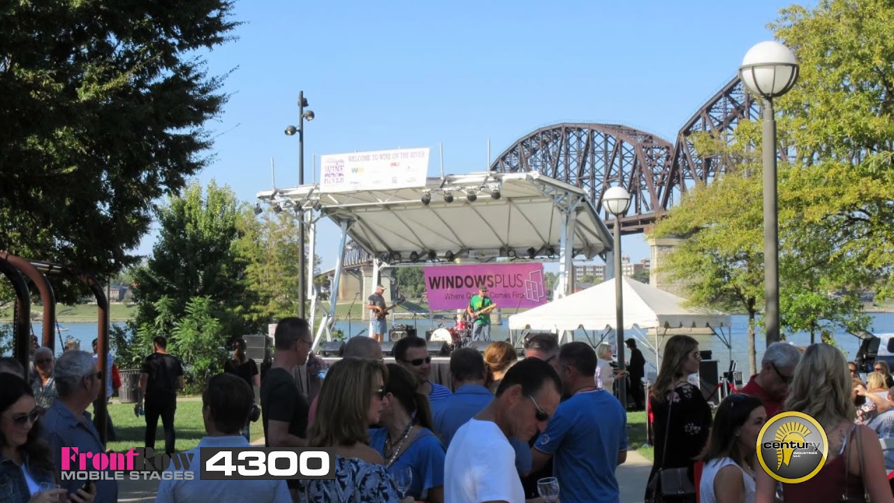 Century Bandstand Mobile Stage Overview