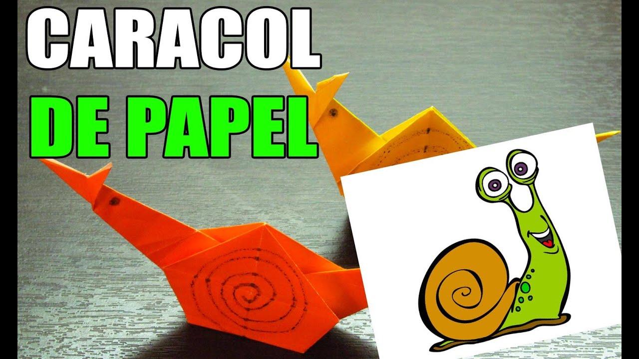 Como hacer un caracol de papel origami paso a paso for Construir piscina natural paso a paso
