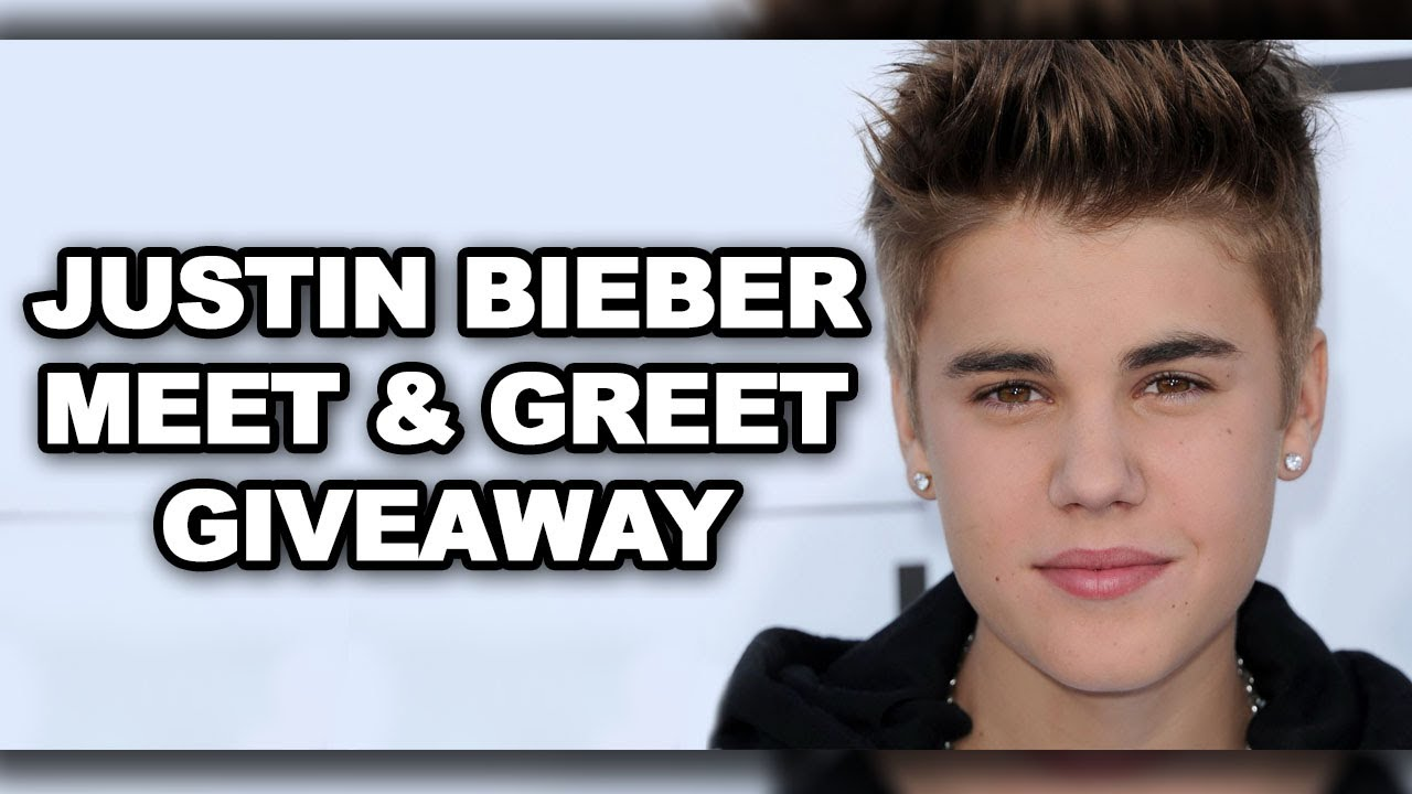 Win justin bieber concert tickets and meet him backstage youtube m4hsunfo