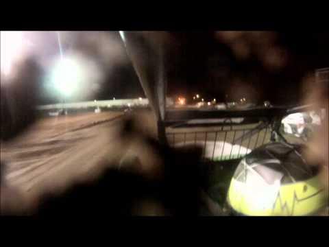 Matthew Rossi, Canyon Speedway Park 2014 Dirt Sprint Car heat race
