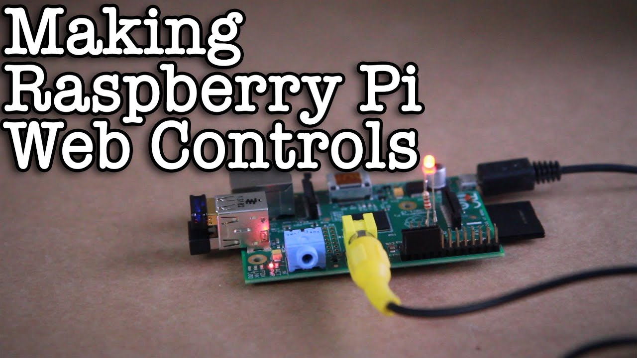 making raspberry pi web controls youtube rh youtube com Raspberry Pi GPIO Christmas Light Show From the Raspberry Pi