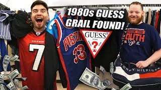 1980s GUESS GRAIL FOUND! Trip to the Thrift #257 Ft. KINKY!