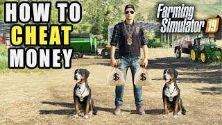 FS19- HOW TO CHEAT IN MONEY TO YOUR SAVEGAME (PC Only) | FARMING SIMULATOR 2019