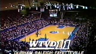 01/12/1985:  Washington Huskies at #2 Duke Blue Devils