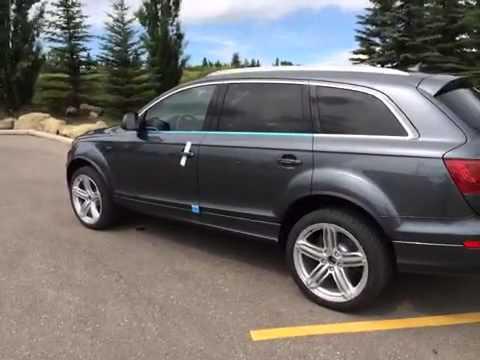 2015 Audi Q7 Daytona Grey Pearl Eff Glenmore Audi Youtube
