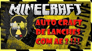 MINECRAFT AREA 42  - 14# -  AUTO CRAFT DE LANCHES COM AE 2