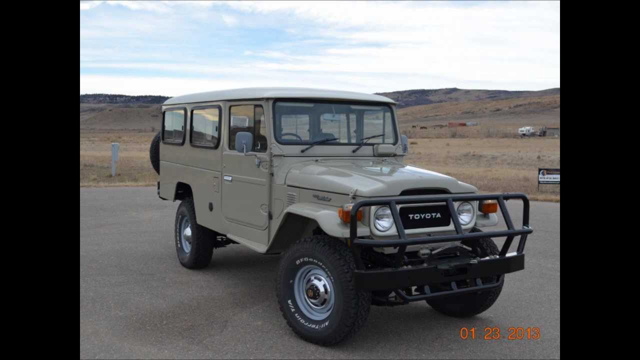 1984 Toyota Land Cruiser Fj45 Troop Carrier Dual Fuel