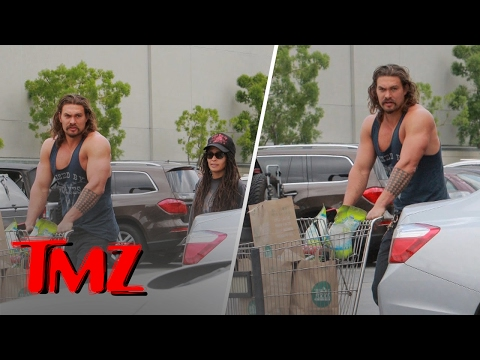 Download Youtube: Jason Momoa or... AQUAMAN! Is the Manliest Man In Hollywood | TMZ